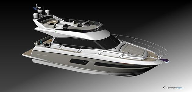 iahtul Prestige 460 s-a lansat la Miami