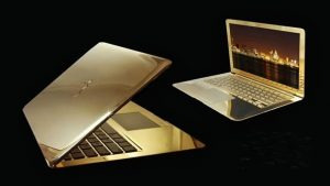 MacBook Pro 24 karate Gold laptop
