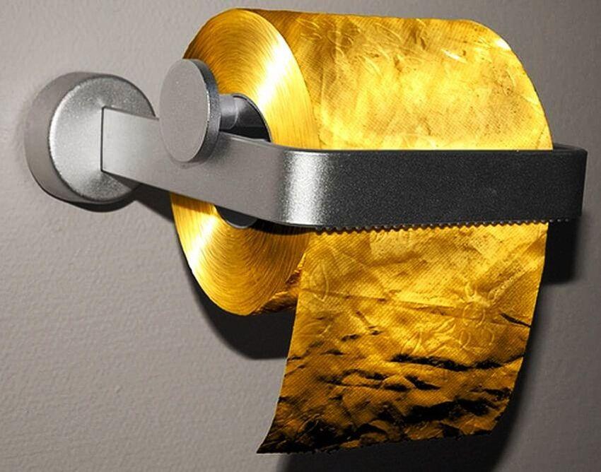 Cea mai scumpa hartie igienica din lume